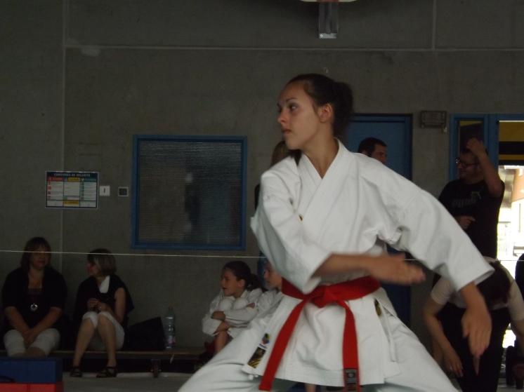 Camille, début d'Heian Yodan
