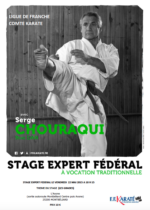 Stage Serge Chouraqui